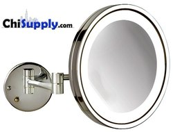 LED makeup mirror with Chrome Finish