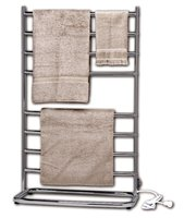 Satin Nickel Hyde Park Free Standing Towel Warmer